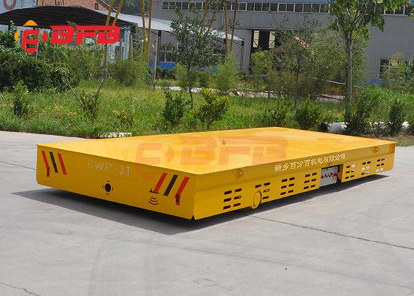无轨电动平板车与轨道平车的应用