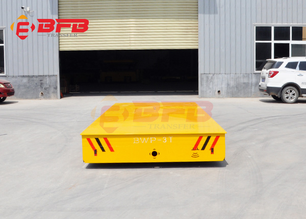 工业模具车间使用的无轨电动平车